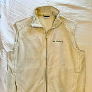 NWOT Columbia fleece zipper vest